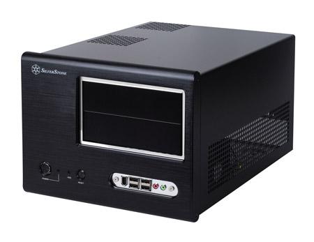 SFF mATX Cube Silverstone Sugo SG01B-F <Black, mATX, USB2.0, IEEE1394, Audio, ��� ��>